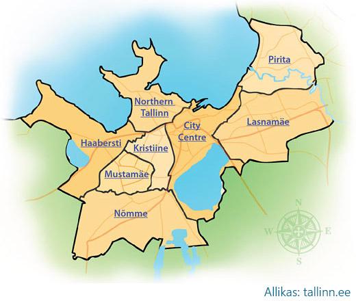 tallinna-linnaosad