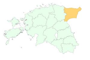 Ida-Virumaa maakonnad