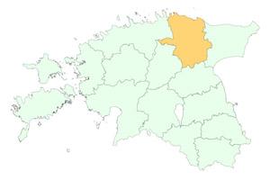 Lääne-Virumaa maakonnad