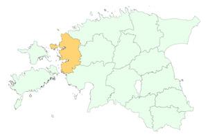 Läänemaa maakonnad