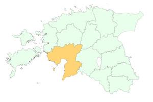 Pärnumaa maakonnad