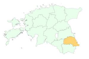 Põlvamaa maakonnad