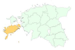 Saaremaa maakonnad